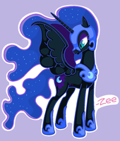 Nightmare Moon by Chaowzee