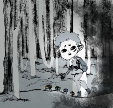I'm running away from dreams by SkeletonMachine