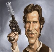 HAN SOLO by JaumeCullell