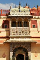 Peacock Gate 1, Jaipur City Palace by wildplaces