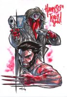 GRIFTER LOGAN MARKER MADNESS by deemonproductions