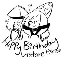 Happy Birthday Piko! by DuckyDeathly