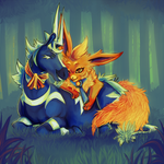 Nuzzles by SpaceSmilodon