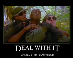 Deal with It: Daniel's My BF by campyspornshack
