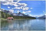Maligne Lake by od1e