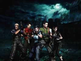 Resident evil wallpaper 7 by ethaclane