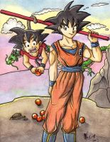 Goku s by ArGe