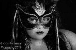 Masked Beauty by ChefPhoto