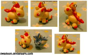 Chibi pm Sale CM: Rapidash by Swadloon