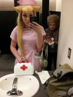 Nurse Peach PREVIEW - Ohayocon 2013 by matchahime