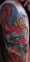 Japanese Arm Piece by RuttNeff