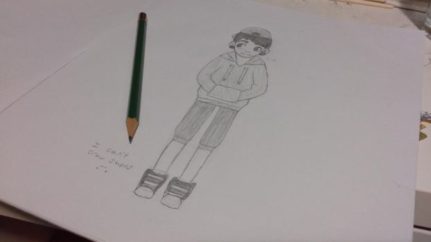I Can't Draw Shoes .-. by Emilectro