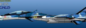 IFX-35 Cygnus - Side Profile - WIP by haryopanji