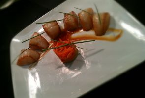 Teriyaki Scallops Deconstructed by PrYmO-ART