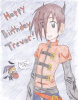 It was his birthday :D by 19DarkArtist94