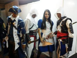 Alice Madness and Assasin's Creed by Lillyka