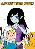 Adventure Time fanart by xAKUM3TSUx
