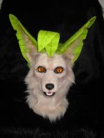 Realistic Leafeon Mask - For Sale