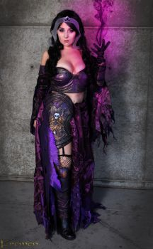 Liliana Vess Cosplay 2 by DustbunnyCosplay
