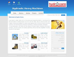 Layout for Hydrocare by riyaz7cp