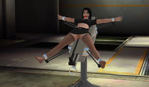 The Jammer 100% pose-able (Re-Updated) by TheLoneAbductor