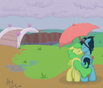 Pineapple Breeze and Storm Spotter - Request by fuyu-oleander