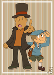 Layton and Luke by Lumatora