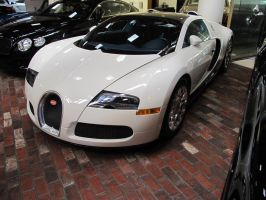 White Bugatti Veyron 16.4 at Symbolic Motors 1 by MichaelB450