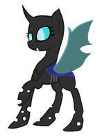 Changeling Pony Base REMADE by Rainbow-ninja-adopts