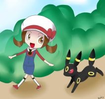 PKMN Walking with you by barby-chan16