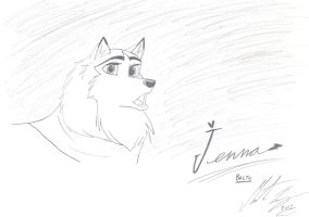 Balto - The Lovely Jenna by MortenEng21