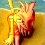 Amy Rose -Lets wait for Summer by Jazz-M-Ink
