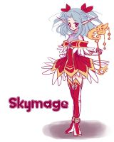 Skymage adoptable {CLOSED} by LittleRueKitty