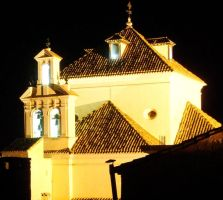 Andalusian Church by Shocktherapist