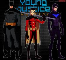 Young Justice: Batman Family by YorkeMaster