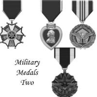 Military Medals 2 by Chrippy
