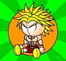 Broly Plushie by IronFist-Productions