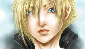 Cloud Strife by Allegro97