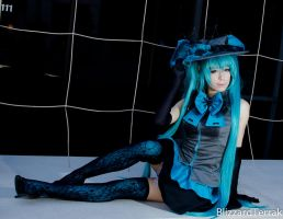 PMX13 - Halloween Miku by BlizzardTerrak