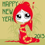 Ruby Gloom Chinese New Year 2013 by empty-10