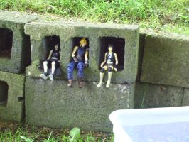 Action Figure Holes by kingdomhearts800