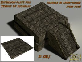 Temple of Sucuriju - Extension (.OBJ-file) by ancestorsrelic