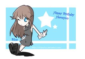 Happy b-day Hermyon by Silvyellow