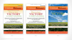 Celebrate Recovery Poster by artjective