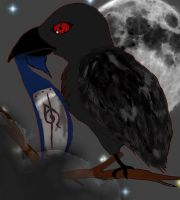 Itachi's Crow by AnbuGirl26