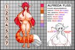 Alfreda Proportions Colored By: Lilirulu by Natheren
