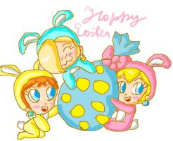 happy easter 2013 by ninpeachlover