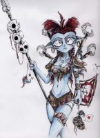 troll female shaman by CrossChannel