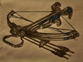Crossbow by RebelliousEscapist