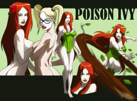 POISON IVY ANIMATED by CHUBETO